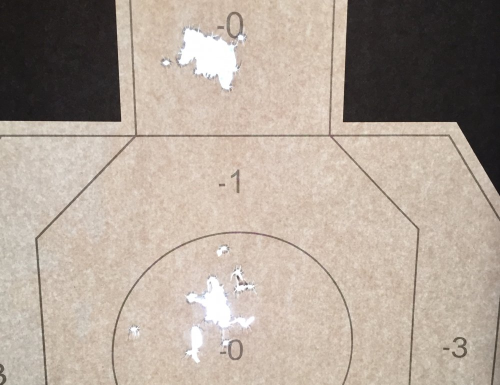 MP5 Accuracy Test Iron Sights