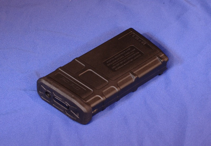 Magpul Pmag modification for .458socom, 50 beowulf