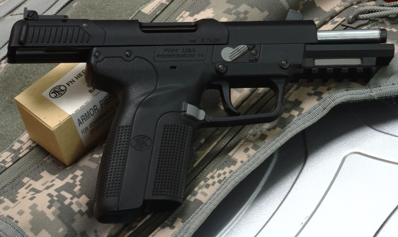 FN 5.7mm x 28 Pistol and SS190