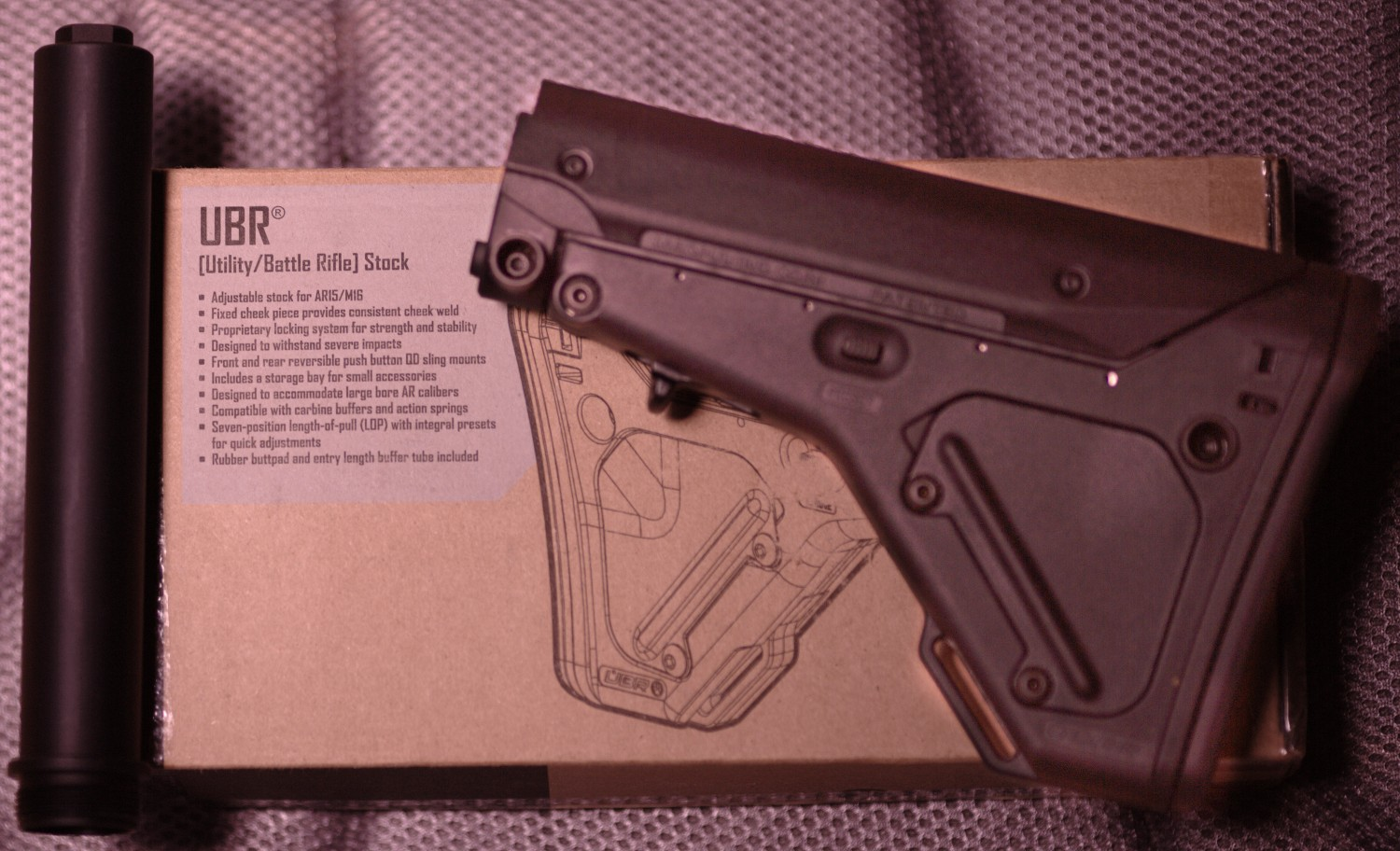 Magpul UBS Stock And Strike Plate
